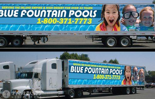 Blue Fountain Pools